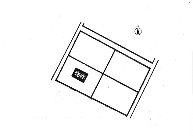 住宅用土地の図面